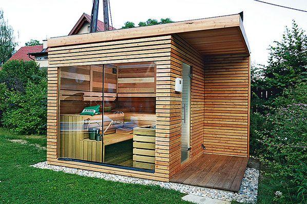 sauna ogrodowa gotowa montaż
