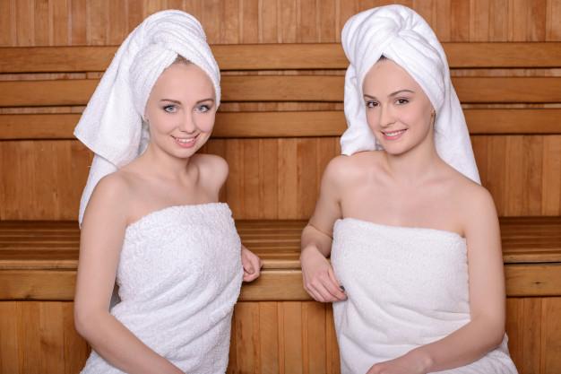 recznik do sauny dla kobiety damski